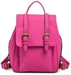 Merona® Women's Vertical Buckles Backpack Handbag - MeronaTM