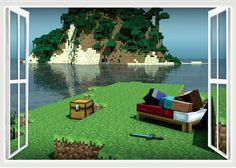 Minecraft Wall Decorations minecraft sticker decorations for walls minecraft game collage