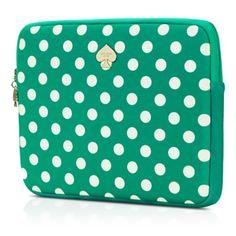 Kate Spade iPad case..I love this one too...hmmm