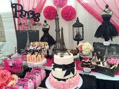 Paris Birthday Party Ideas | Photo 22 of 27 | Catch My Party