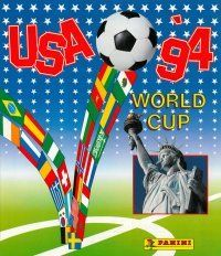 Panini World Cup USA 94 Album Cover