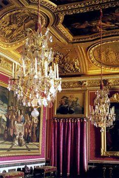 Palais de Versailles, France. Opulence epitomized.