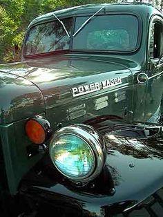 1957 Dodge Power Wagon - fender.