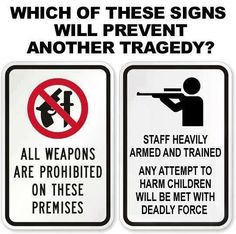 Staff heavily armed and trained any attempt to harm children will be met with deadly force!!!  #keepourchildrensafe