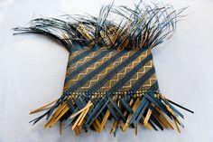 Weaving · Jill Fleming Flax Weaving, Loom Weaving, Basket Weaving, Polynesian Art, Maori Designs, Nz Art, Maori Art, Arts And Crafts, Carving