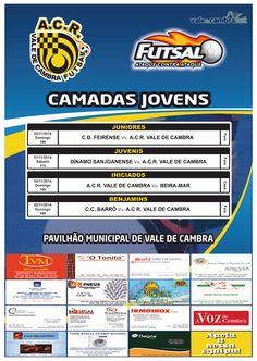 Futsal: ACR Formação > 1 e 2 Nov 2014  #ValeDeCambra #futsal