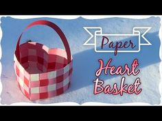 DIY Gift Basket Weaving Paper-Gift Basket Ideas-Basket Out of Paper-How to Make a Paper gift Box - YouTube