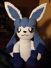 Glaceon Crochet Pattern COST