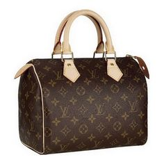 """Louis Vuitton Monogram Canvas Speedy 25 M41528 -The special status of """"legend in the Legend"""" has a bag Louis Vuitton Monogram Speedy, whose history began in the 30s of the twentieth century and continues to this day."""