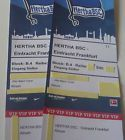 #lastminute  2 VIP Tickets (After Match) Hertha BSC Berlin  Eintracht Frankfurt 25.02. 18:30 #deutschland