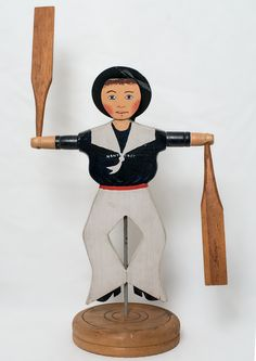 Lincoln Ceely Sailor-Boy Whirligig