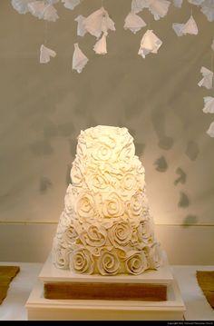 Polivka/Langsdon Remnant Fellowship Church Wedding  - Cake