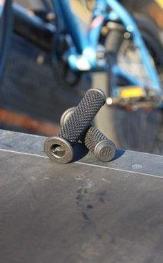 DK BMX Bike Grips are soft kraton rubber BMX grips- perfect for doing tricks!