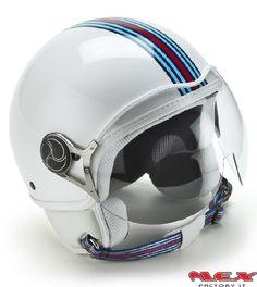 Casco Moto Martini Racing White