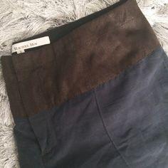 rachel roy / navy short + rachel roy + navy blue lightweight short  + 2-tone material  + size 2 Rachel Roy Pants