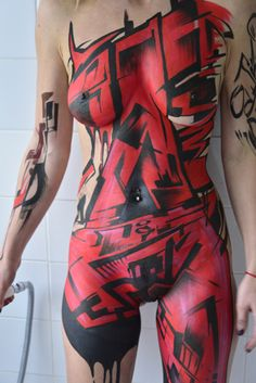 Mr SHIZ – Graffiti Bodypainter