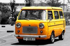 Fiat 850T -yellow cars