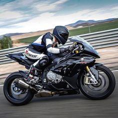 Joanna Benz on her BMW s1000RR
