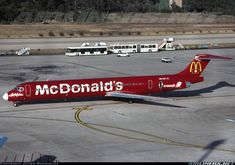 McDonnell Douglas MD-83 (DC-9-83) aircraft picture. june 1997 spain