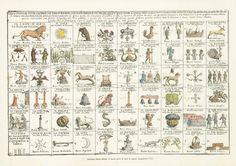 New game of all taverns to be found in Bologna, 1712. Bologna  // Il Nuovo Gioco di tutte le Osterie, 1712. #Bologna