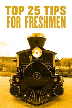 """Your Purdue Alumni Association has gathered a list of """"Top 25 Tips for Freshmen."""" Take a look and have a memorable time on our beloved campus!"""