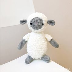 LARGE SHEEP crochet amigurumi lamb sheep gift sheep