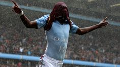 Benteke of Aston Villa