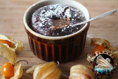 Fondant aux framboises et chocolat individuel http://www.aprendresansfaim.com/2016/07/fondant-aux-framboises-et-chocolat.html