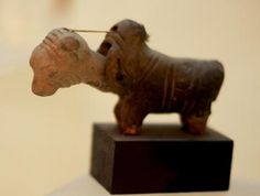 Ancient toy used by the Mohenjo-daro, approx 4000 years old.