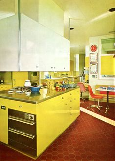 70′s Kitchen Design From Modern Furniture and... - The Groovy Archives Decor, Furniture, 70s Kitchen, Modern Furniture, Vintage Interior, Interior, Vintage Interior Design, Interior Design, Kitchen Design