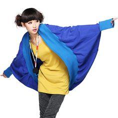 #Swanmarks Liebo New Round Opening Blue Short Coat