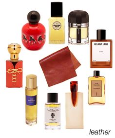 Leather scents from smooth to salty: Land of Warriors, Knize Ten, Mon Cuir, Cuiron, Cuir Velours, Korrigan, Cuir Pleine Fleur, Cuir Ottoman, and Cuir Fetiche #niche #perfume #luckyscent