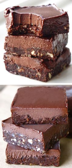 Healthy Eatmore Fudge Chocolate Bars Healthy Fudge, Healthy Chocolate, Healthy Dessert Recipes, Health Desserts, Chocolate Recipes, Baking Recipes, Vegan Recipes, Chocolate Gluten Free Desserts, Chocolate Cake Bars Recipe