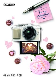 OLYMPUS PEN Valentine's Day