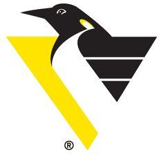 """Pittsburgh Penguins """"Robo-Penguin"""" logo (1993-2002)"""