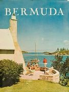 [[Bermuda]] Travel Poster Family on Patio Photo
