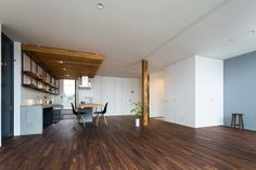 Minimalist House by Tukurito Architects