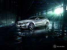 CLS Shooting Brake - Highly efficient diesel and petrol engines deliver peak output and torque levels.