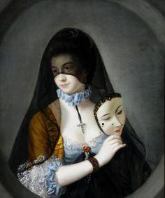 The Fair Nun Unmasked, Henry Morland, Temple Newsam, Leeds