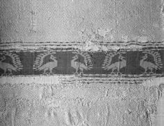 Cloth  Italian or Sicily, 13th–14th century, MFA Boston  Silk Weaving. Background fabric is a birdseye twill.