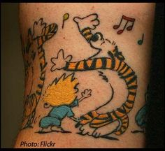 calvin and hobbes tat