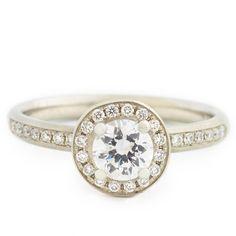 Halo Mount Engagement Ring