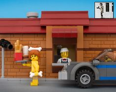 bricksy: banksy in LEGO