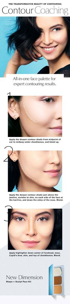 DIY Face Masks  : The New Dimension Shape  Sculpt Face Kit the new all-in-one palette for expert