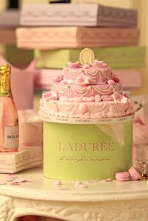 This wonderful Laduree cake is made beautifully by Caroline from Hummingbird Miniatures. I am planning to make one for my Laduree, in the not too distant future!!