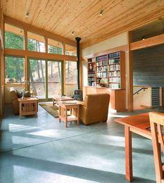 Minimalist Cabin hillside home design architecture minimalist cabin decorating