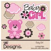 Baby Girl-scrapbooking and paper craft files
