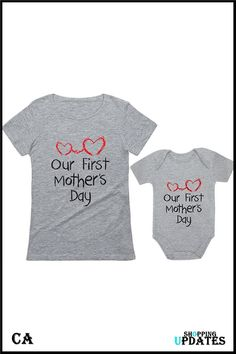 Mother's Day Outfit for Mom & Baby Matching Set. First Mothers Day, Mom Outfits, Mom And Baby, Outfit Of The Day, Kids Fashion, Children, Maternity Style, Today's Outfit, Young Children