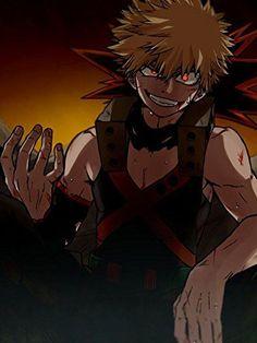 My Hero Academia (僕のヒーローアカデミア) - Katsuki Bakugou (爆豪 勝己) My Hero Academia Episodes, My Hero Academia Memes, Hero Academia Characters, Anime Characters, Me Anime, Anime Kawaii, Anime Guys, Anime Art, Boku No Hero Academia
