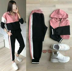 high school outfits with leggings Girls Fashion Clothes, Teen Fashion Outfits, Outfits For Teens, Sport Outfits, Girl Fashion, Girl Outfits, 70s Fashion, Sport Fashion, Fashion Fashion